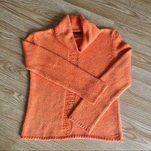 Eslina Karop | Sweater Cowl/turtleneck Med coral